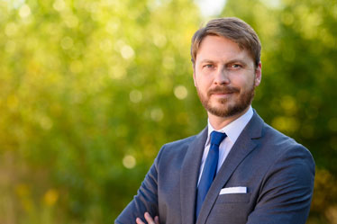 Talent-Manager Henrik Turk vom Stein